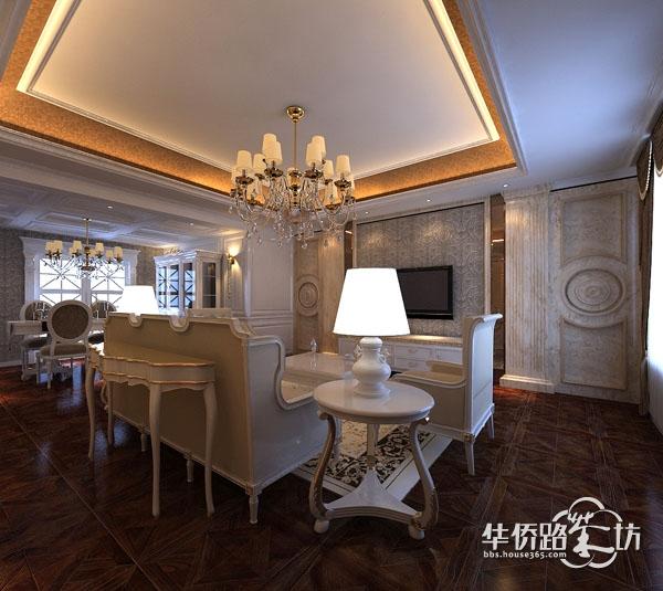 欧式装修风格与木门的完美搭配