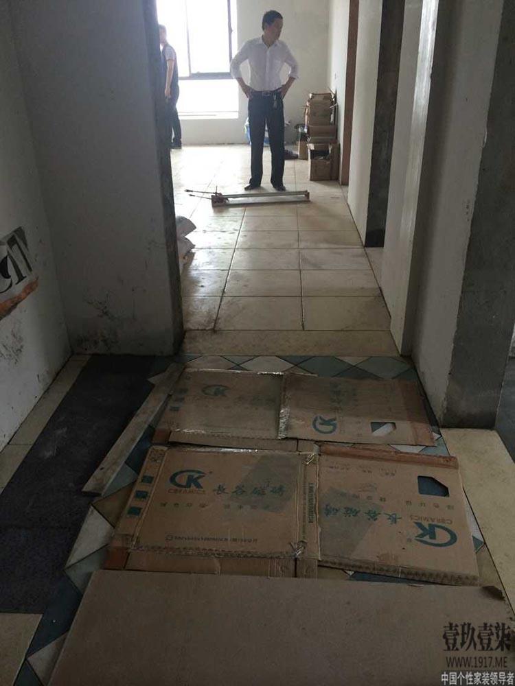 【1917国际设计】2015年南京质检组首次合肥工地巡检