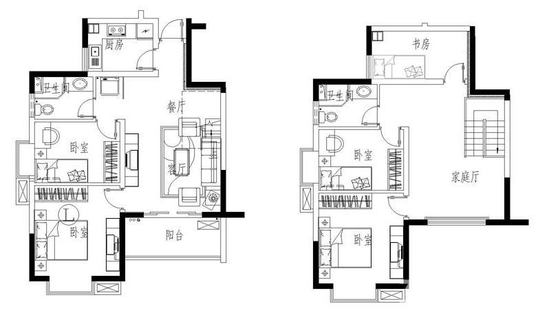 七彩星城 超大复式 层高两米八 全明户型采光充足 房主诚心出售