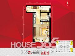 宝龙龙公馆54�O户型图