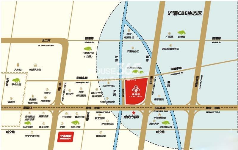 御锦城区位图