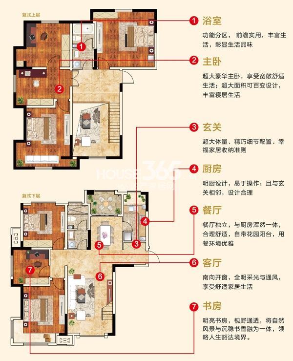 新华联梦想城C2复式户型