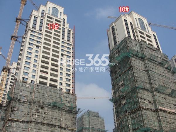 蠡湖瑞仕花园10、11#楼实景图(2014.11 摄)