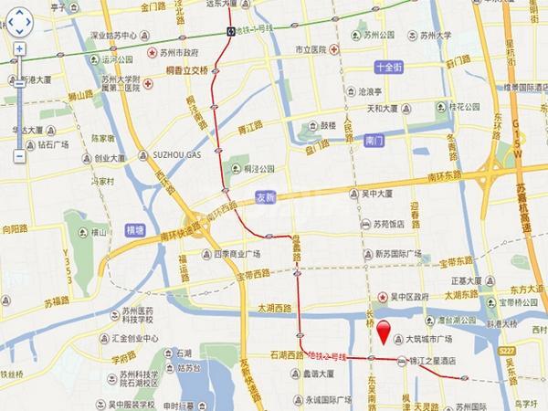 海星生活广场交通图