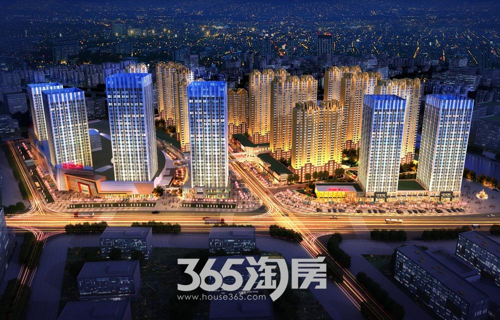 瑶海万达广场效果图