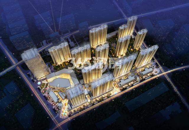 中海广场鸟瞰图