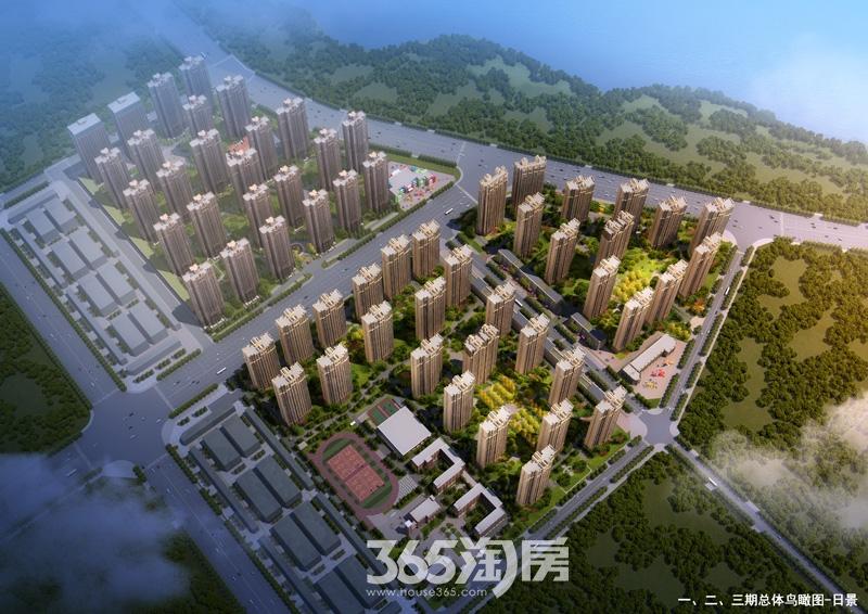 华南城紫荆名总鸟瞰图