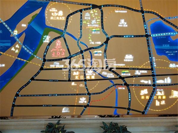 恒盛金陵湾项目区位图