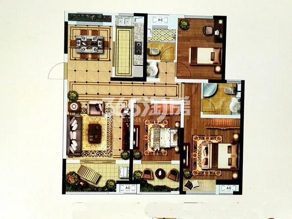 G7户型三室两厅两卫