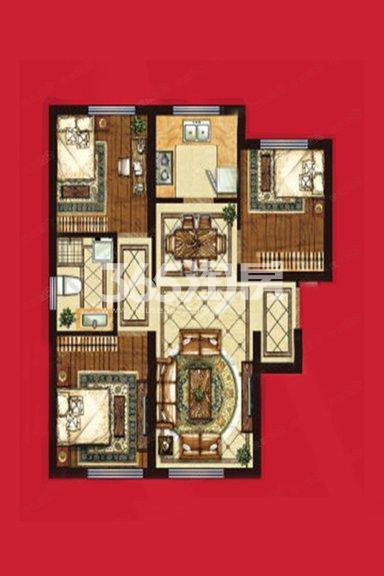 91平米 3室2厅1卫