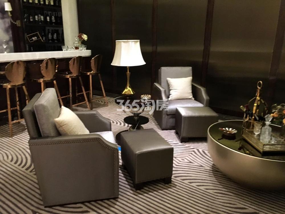 银亿东城144㎡联排别墅样板间客厅