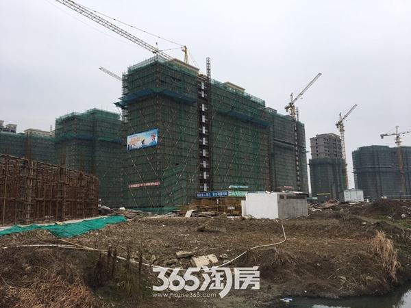 三潭音悦和园工程进度(2017.2摄)