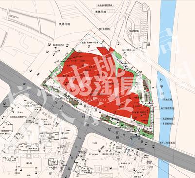 信达中心项目MU-03地块平面图
