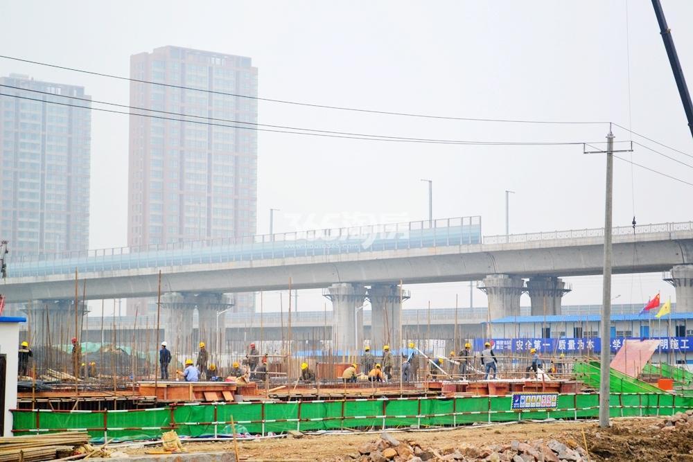 高速御府工程进度(2017.4摄)