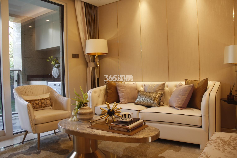 首开杭州金茂府125方样板房---客厅
