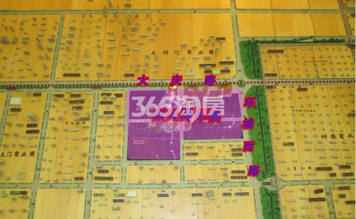 恒天国际城营销中心区位图