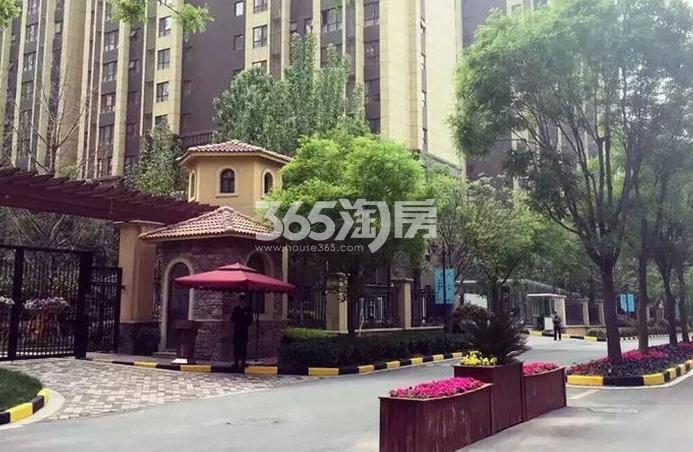 华远海蓝城实景图(2017.6.5)
