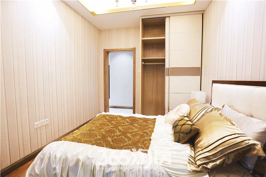 翰林公馆G1户型100㎡样板间-卧室