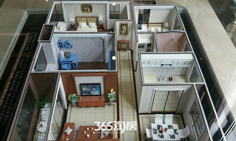 华邦观筑里售楼部户型模型(2017.6)