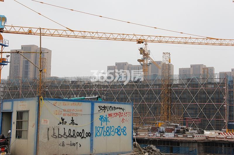 中国铁建西湖国际城施工实景图(2017.6)