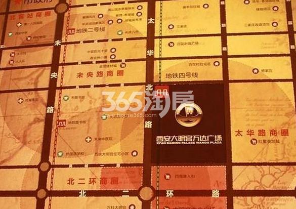 万达公馆交通图