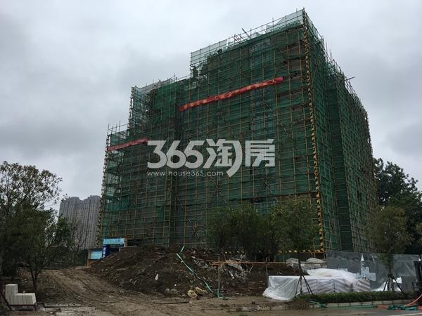 富力运河十号在建高层实景图(2017.7 摄)