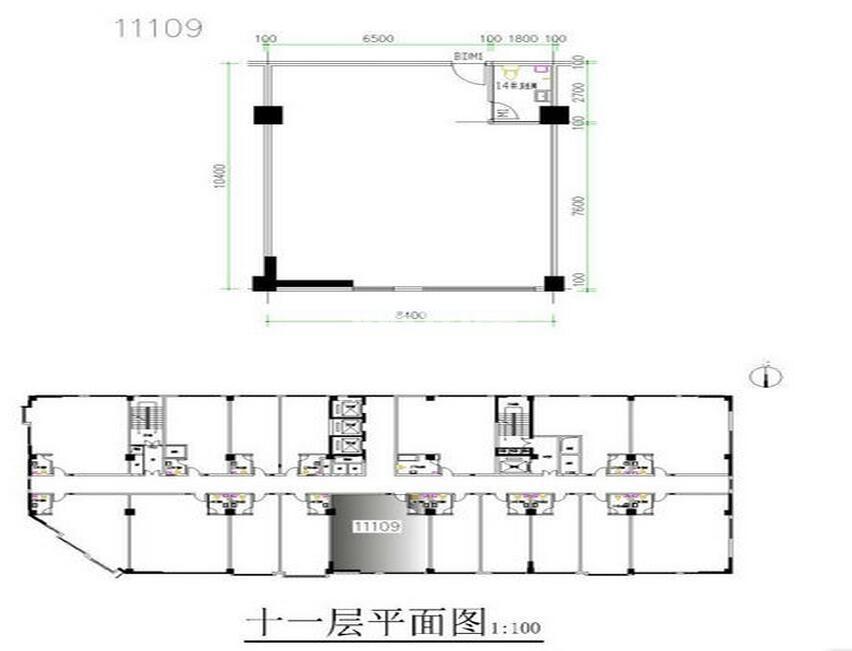 通泰曲江左岸一厅一卫120.10(自由分割)