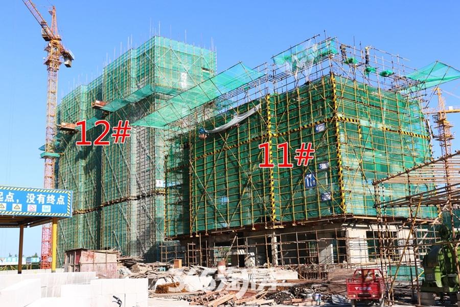 东方蓝海12#11#施工中(2017.8摄)