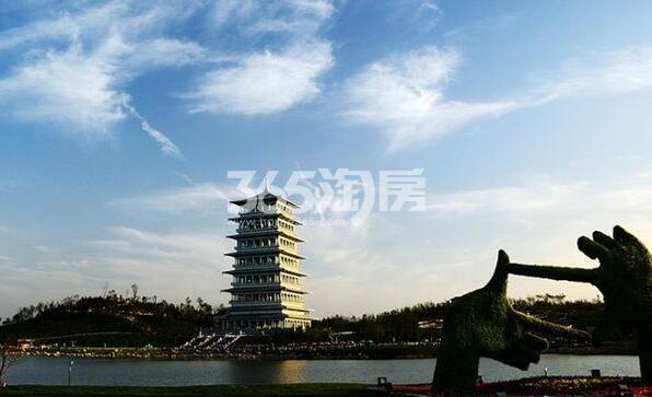 世园大公馆周边长安塔(2017.10.11)