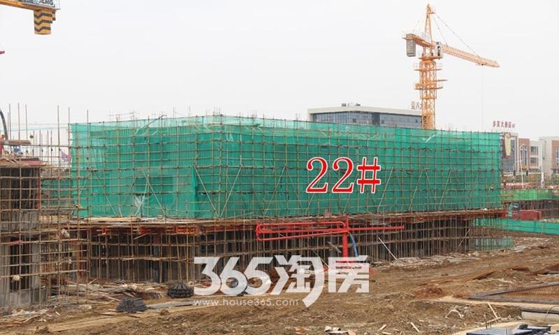 金科海昱东方22#工程进度图(2017.10.1)