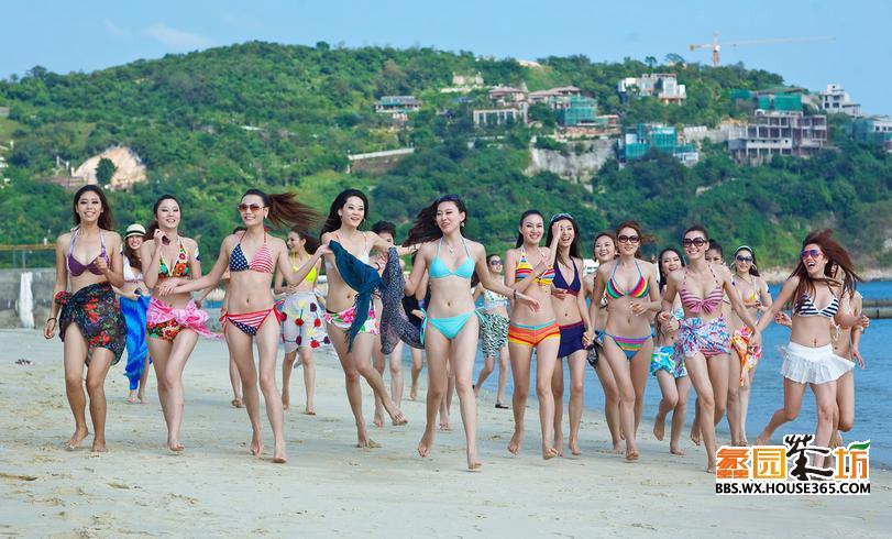 夏威夷沙滩趴美女美食水上乐园打造无锡